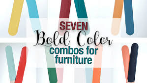 bold color 7 bold color combinations painted furniture melanie alexander l f