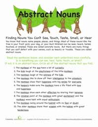 13 best abstract nouns images on pinterest abstract nouns