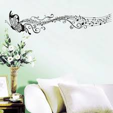 butterfly music notes large uk wall decal sticker butterfly music notes large uk wall decal sticker