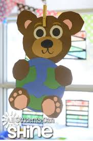 Teddy Bear Crafts For Kids 60 Best Earth Day Images On Pinterest Earth Day Environment And
