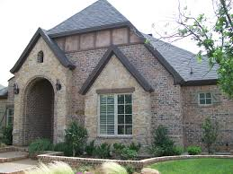Home Decor Midland Tx by Exterior Gable Trim For House Plan Roof Design Red Brick Stone