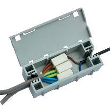 wagobox light junction box cable connectors screwfix com
