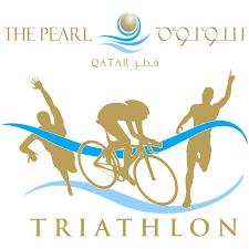 Qatar Route Map by The Pearl Qatar Triathlon 2015