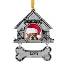 personalized pet ornaments wendell august