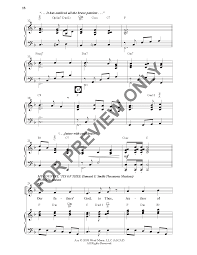 I Pledge Allegiance To The Flag Lyrics America This Is My Country Unison Two Part J W Pepper Sheet Music