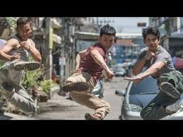 film laga yang dibintangi iko uwais iko uwais tony jaa tiger chen triple threat action movie youtube