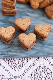 heart shaped cookies heart shaped coconut flour cookie sandwiches