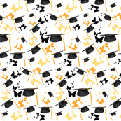 graduation wrapping paper graduation fabric wallpaper gift wrap spoonflower