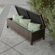 Outdoor Storage Coffee Table Outdoor Storage Noble House Furniture