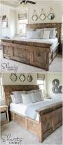 21 diy bed frame projects u2013 sleep in style and comfort king beds