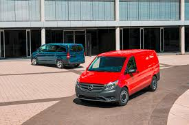 mercedes work truck mercedes metris mid size commercial makes its debut at