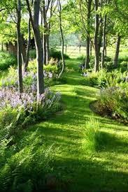 Backyard Garden Ideas Photos Love The Blending Of Garden Into Forest Home Secret Garden