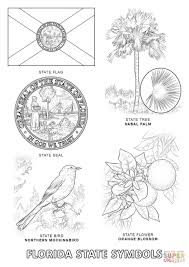 seal coloring page florida state flag coloring page florida state seal coloring page