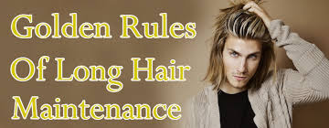 wavy long hair awkward stage men 5 golden rules of long hair maintenance for men