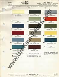 1969 pontiac gto car paint colors urekem paints