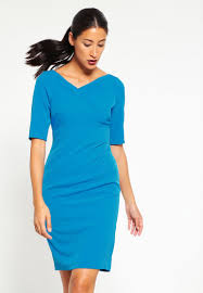 adrianna papell shift dress flashy cerulean women dresses work