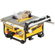 compound miter saw vs table saw dewalt 15 amp corded 10 in compact job site table saw with site pro