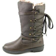 totes s winter boots size 11 size 11 totes white black waterproof warm winter side