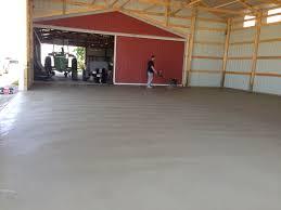 Barn Floor Farm Projects Gerken Construction