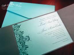 tiffany blue and grey wedding invitation u2013 a vibrant wedding