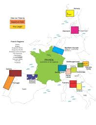 Dordogne France Map by Our Trips