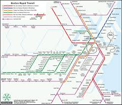 Boston Metro Map by University Of Essex Professor Reconfigures Mbta Maps With New Designs