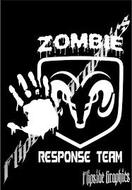 zombie response jeep custom zombie response decal dodge trucks cars windows bumper