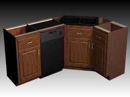 corner sink base cabinet office table