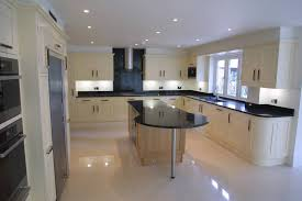 Range In Island Kitchen by Kitchen Cabinets L Shaped Kitchen Bar Design Combined Color