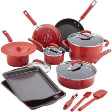 target rachel ray cookware black friday rachael ray 16 piece hard porcelain enamel nonstick cookware set