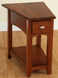 U Shaped Table Legs End Tables Designs Dark Brown Wooden Triangle Shaped Designw