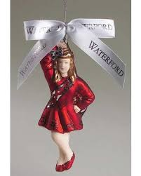 hello winter 42 waterford dancer ornament with box