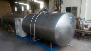 design of milk storage tank bulk milk cooler bulk milk cooler 500 liter manufacturer from pune