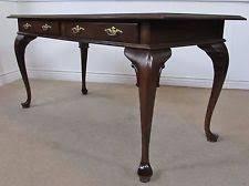 Queen Anne Office Furniture by Ethan Allen Cherry Desks U0026 Home Office Furniture Ebay