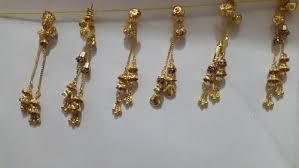 sui dhaga earrings gold earring sone ki baliyan heena creation kutch id