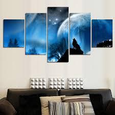 Living Room Art Paintings Online Get Cheap Wolf Art Paintings Aliexpress Com Alibaba Group