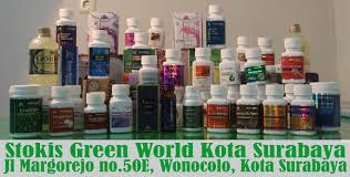 toko obat herbal green world di kota surabaya stokis resmi green