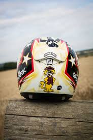 motocross helmet painting motorcycle helmet paint richart review morebikes