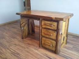 live edge desk with drawers rustic desk live edge desk log desk reclaimed wood desk computer