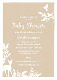 invitation websites baby shower invitation websites for woodland baby shower
