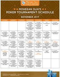 Daily Table Boston Play Poker Games Mohegan Sun