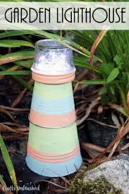 Diy Garden Crafts - diy lighthouse garden craft tutorial consumer crafts