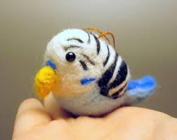 parakeet ornament etsy