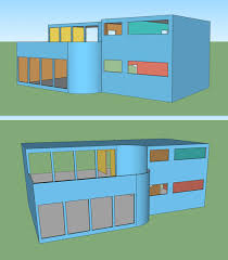 modern dollhouse plan front by amazingminiatures com dollhouse
