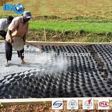 prezzo ghiaia stabilizzato ghiaia pavimentazione griglia per lato marciapiede