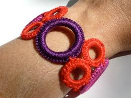 crochet jewelry bracelet images How to make a crocheted ring bracelet craftstylish jpg