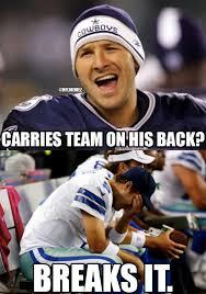 Tony Romo Meme Images - nfl memes on twitter tony romo problems cowboys december nfl