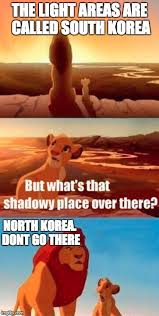 North Korea South Korea Meme - north korea and south korea imgflip