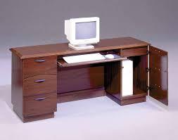 computer desk and credenza furniture red cherry office desk credenza for computer desk idea