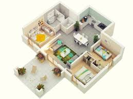 3 bedroom house plans 7 best 3 bedroom house plans in 3d you can copy homelilys decor